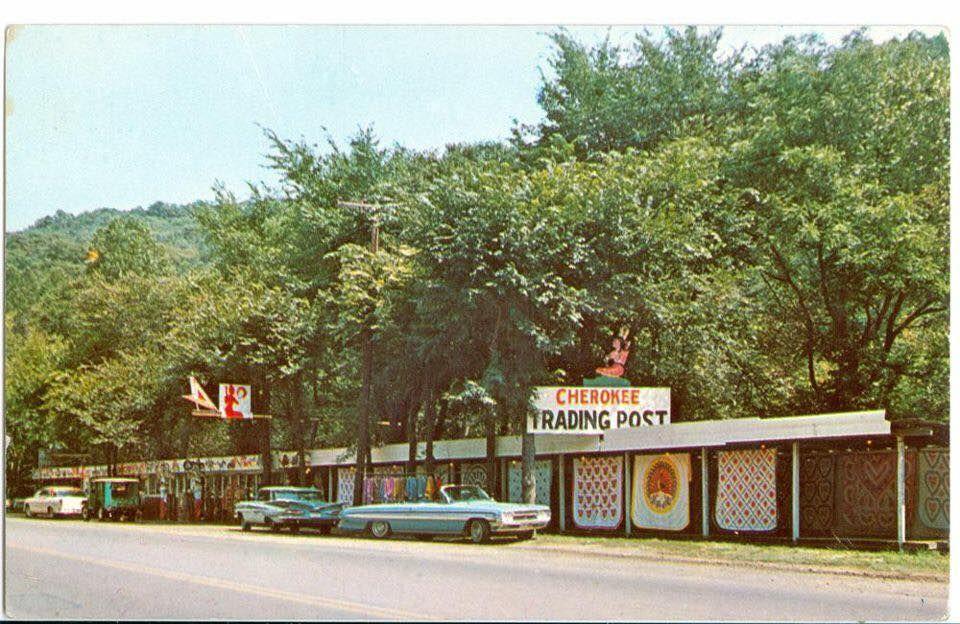 Cherokee Trading Post Route 40 Wheeling Wv Circa 1960 Route 40 Wheeling Wv National Road