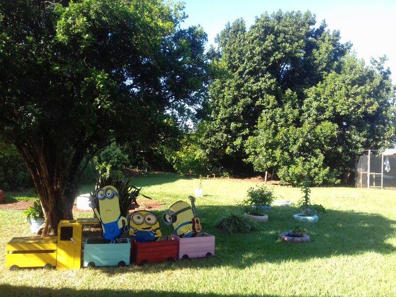 Jardim reconstruido