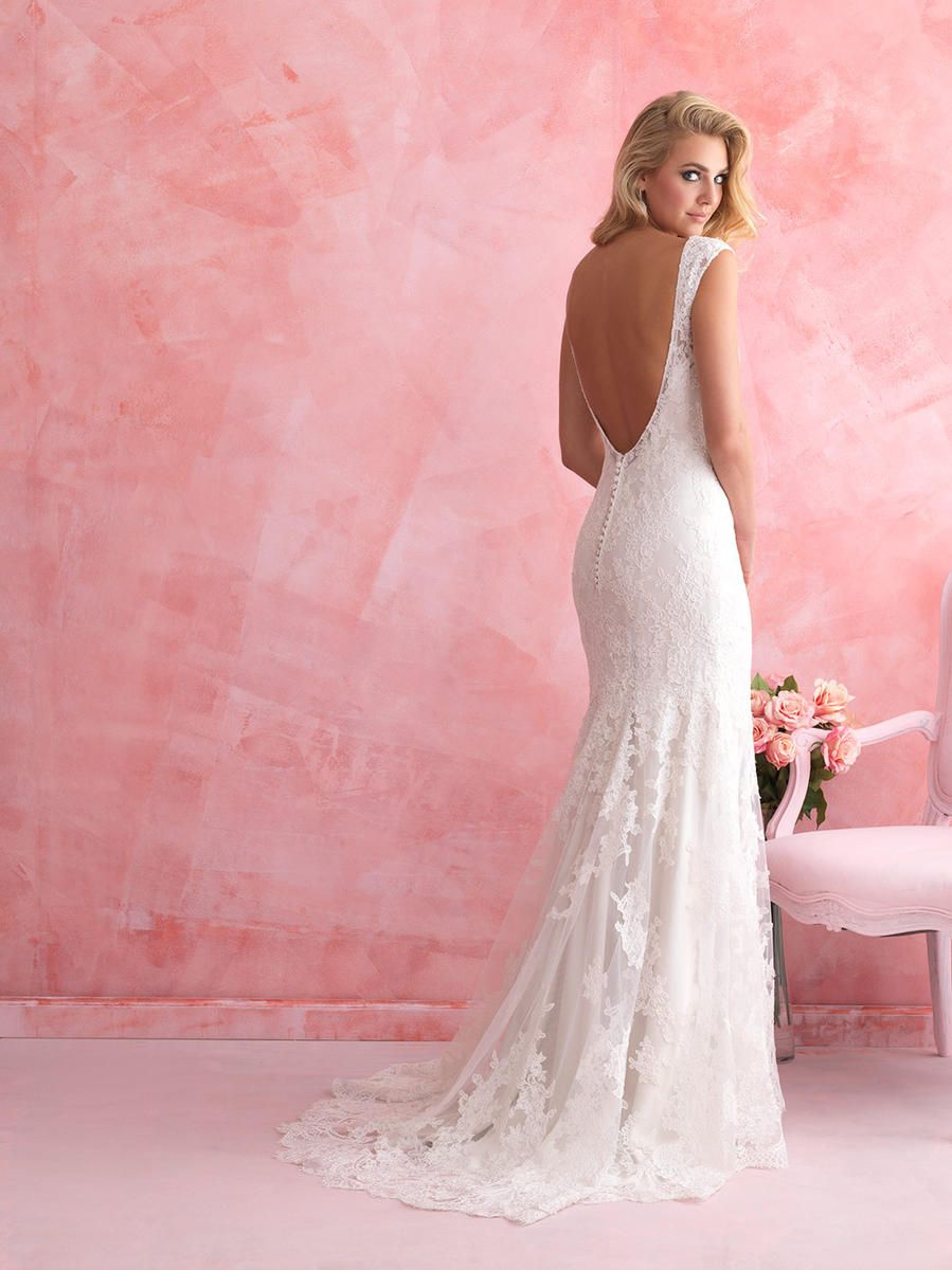 Allure Bridals Romance lace wedding dress. Romantic and elegant ...