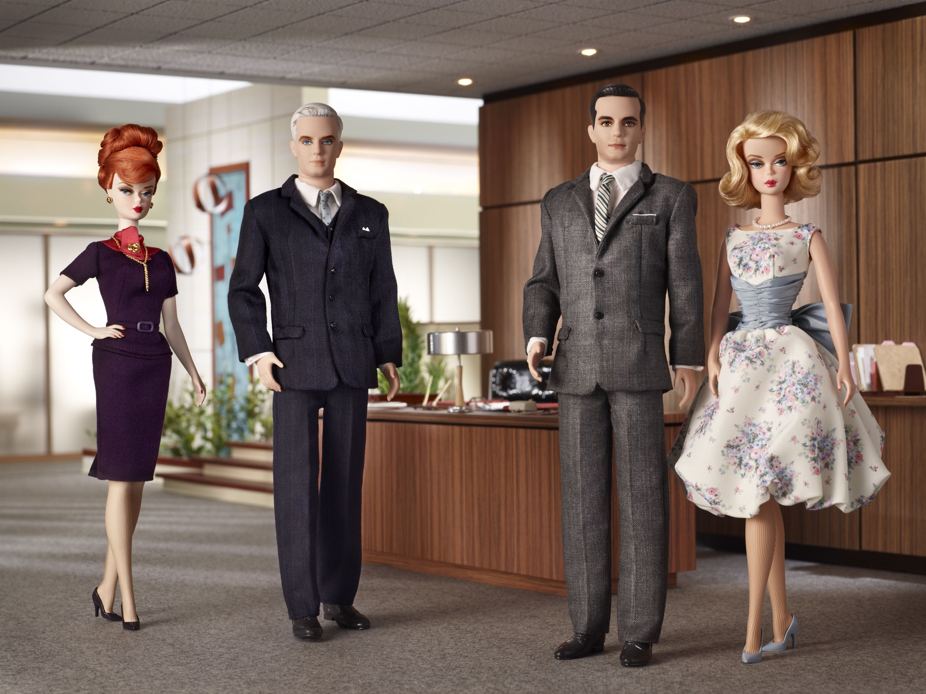 Playing House With the Drapers: The Mad Men Barbie Collection