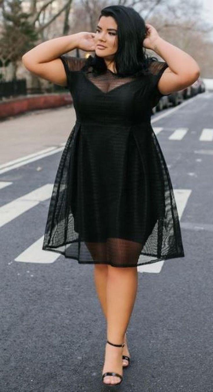Pinterest in 2020 Plus size black dresses, Plus size
