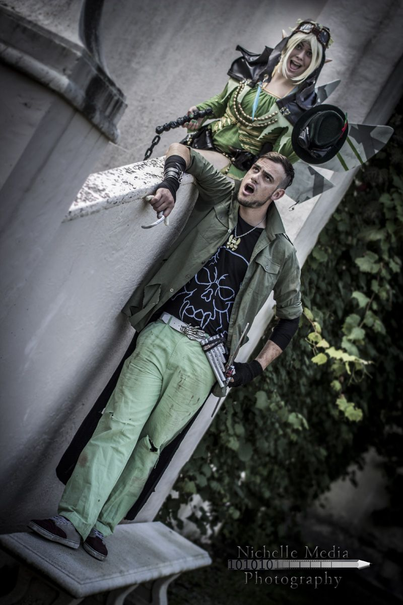 Cosplay Photography: Post-Apocalyptic Peter Pan & Tinkerbell