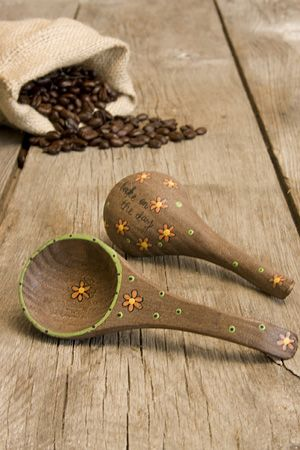 Coffee Scoop That Says Quot Take On The Day Quot Natural Life