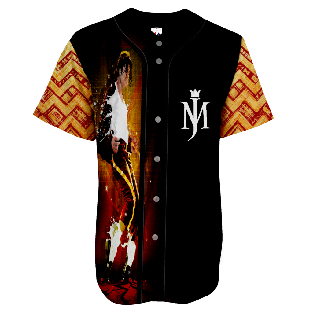 best loved 28f20 0fa1a MJ Thriller Baseball Jersey | Michael Jackson | Baseball ...