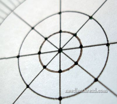 Stitch Fun Petals  Spokes  How To Space Them  Graph Paper