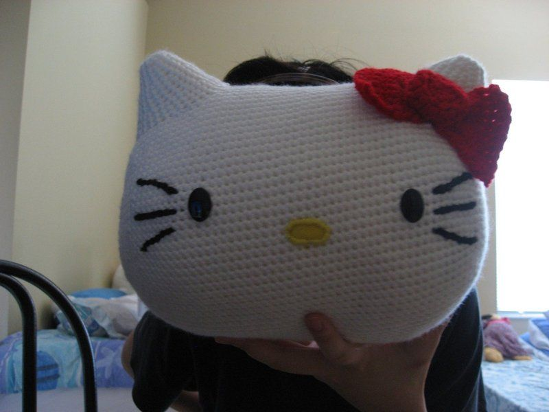 Hello Kitty Pillow | Häkeln