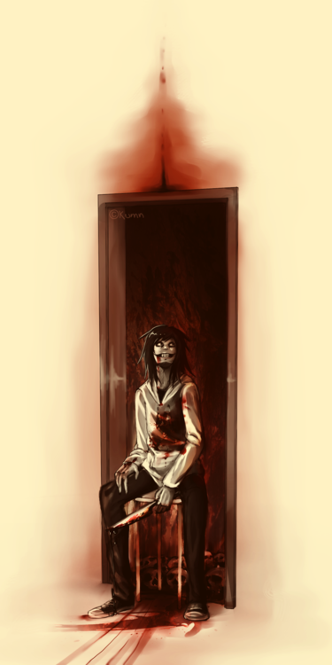 I'm in love with Jeff the killer