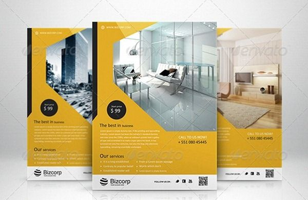 Corporate Flyer Templates  Graphic Design    Flyer