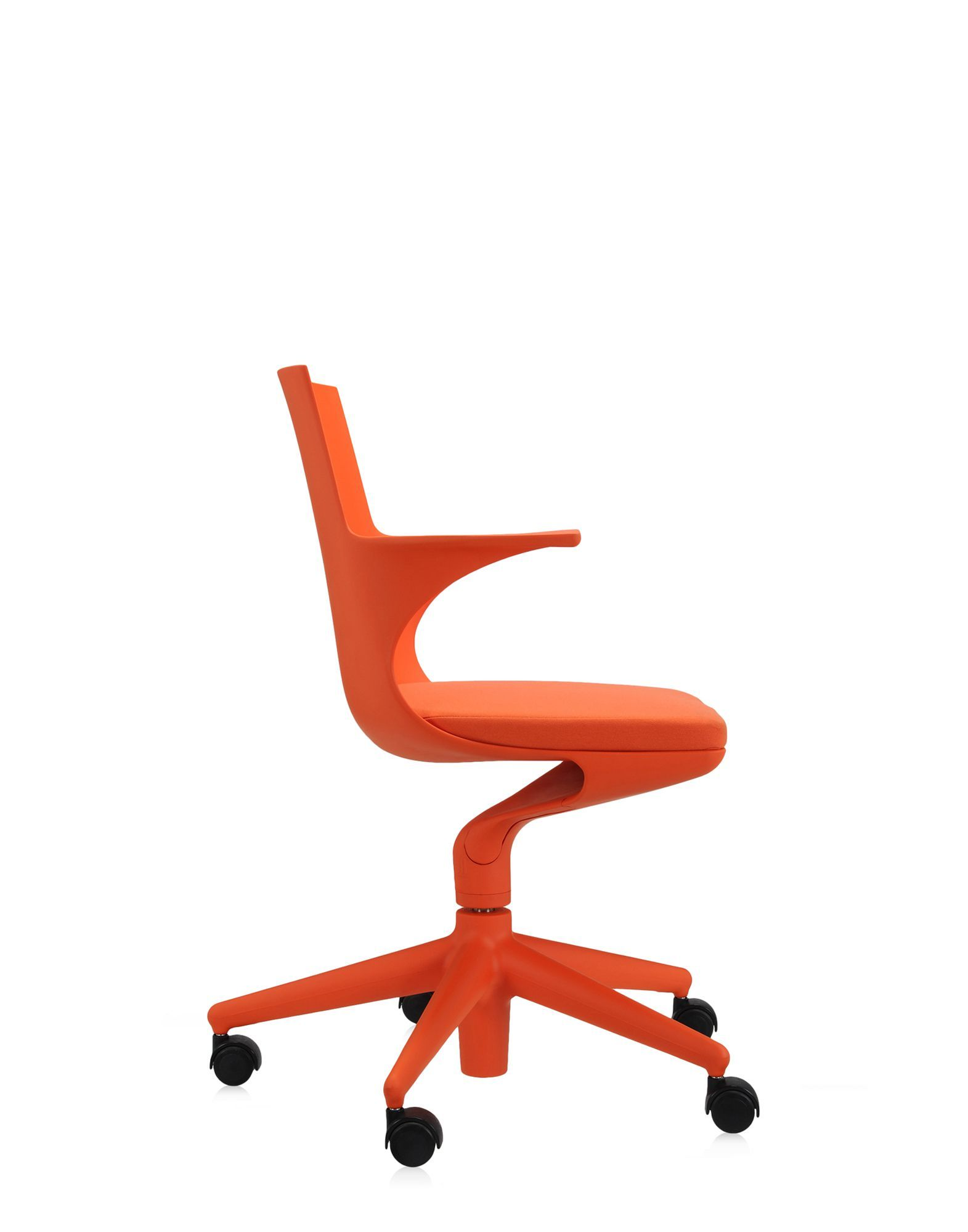 Image result for kartell office chair spoon chair orange