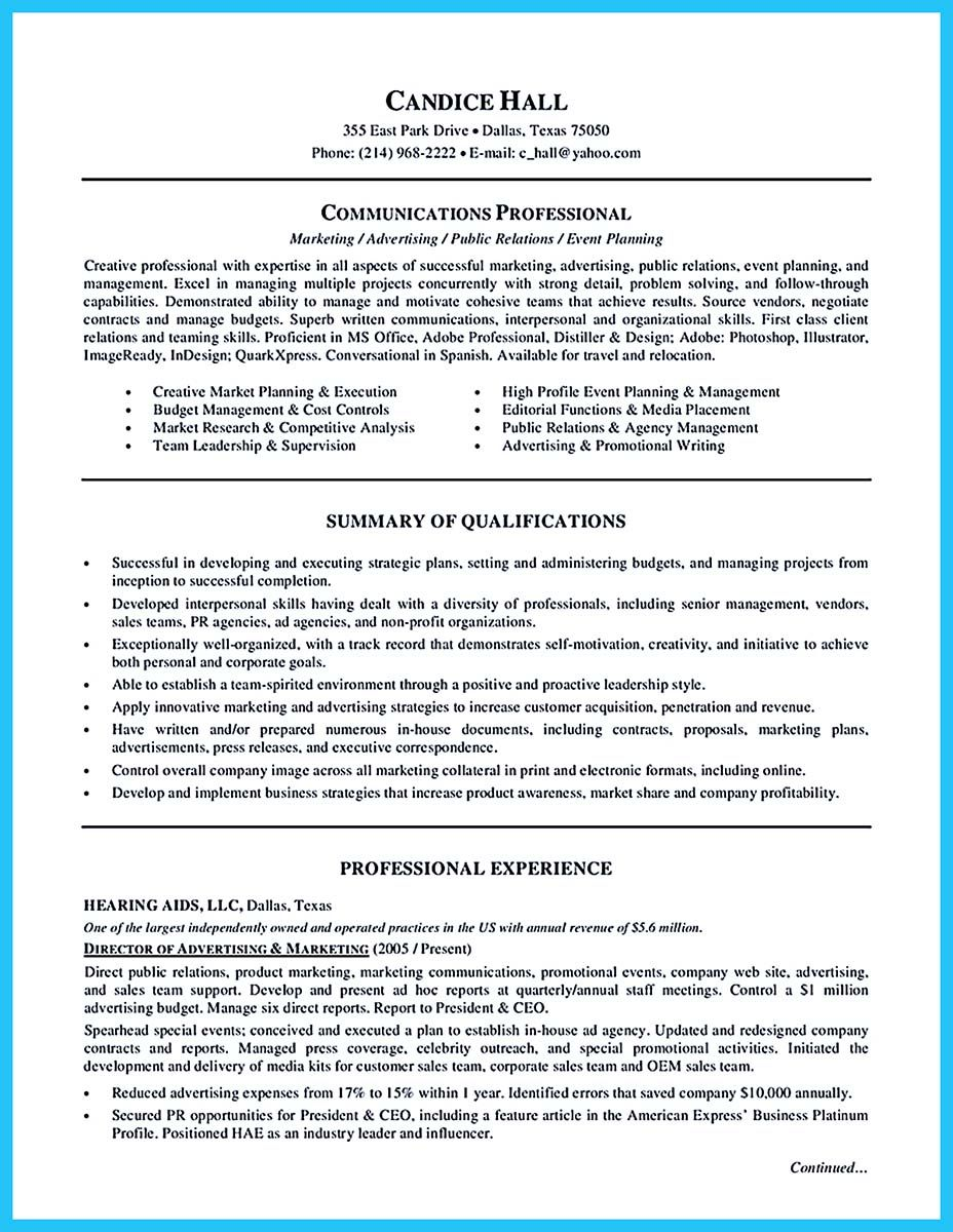 Starting Your Career Now With A Relevant Athletic Director Resume Marketing Resume Functional Resume Template Functional Resume
