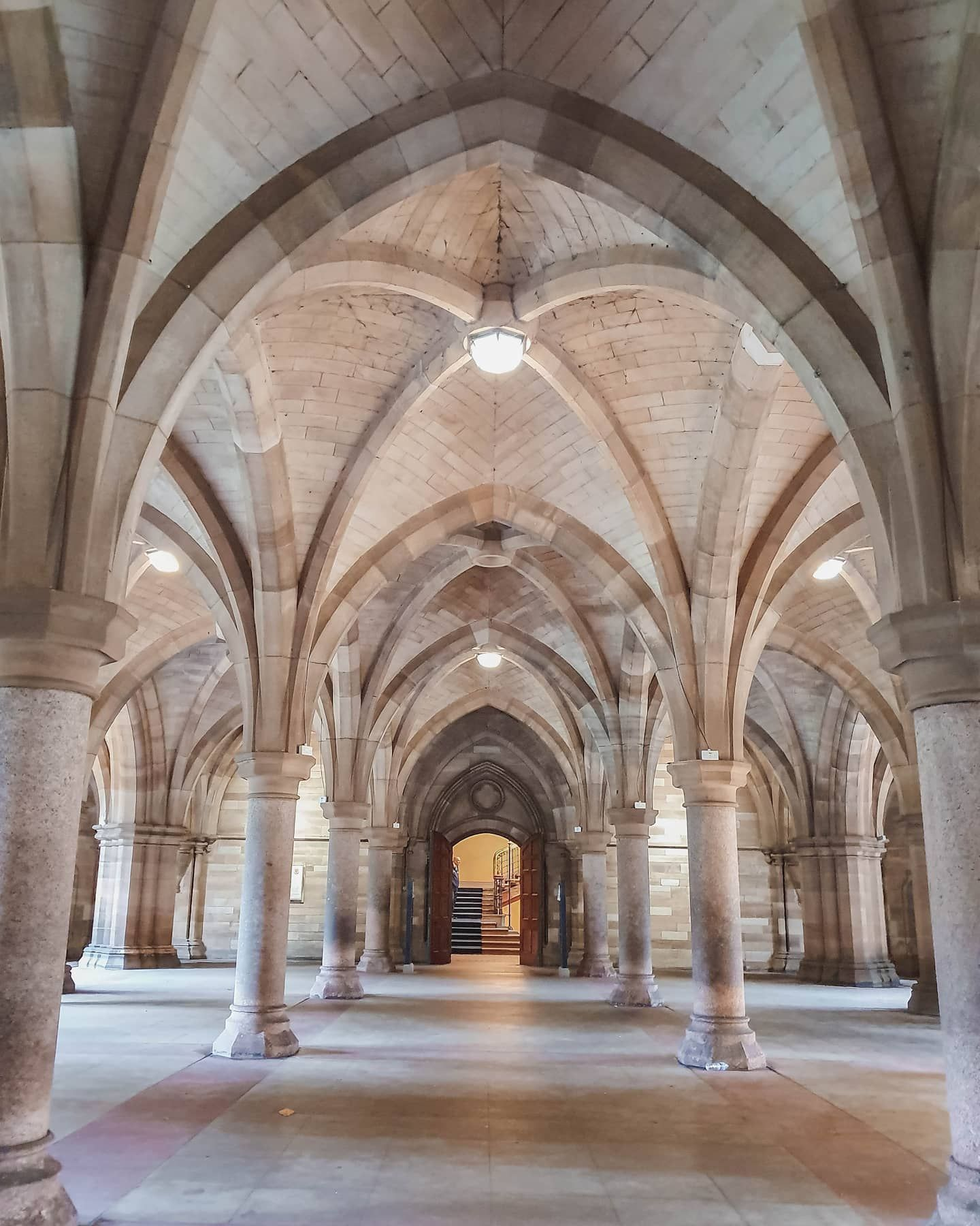 University Of Glasgow Cloisters Glasgow Scotland Travel Guide Scotland Travel Glasgow
