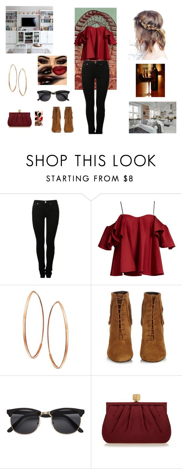 """Untitled #134"" by alexus2016 on Polyvore featuring MM6 Maison Margiela, Anna October, Lana, Yves Saint Laurent and Wilbur & Gussie"