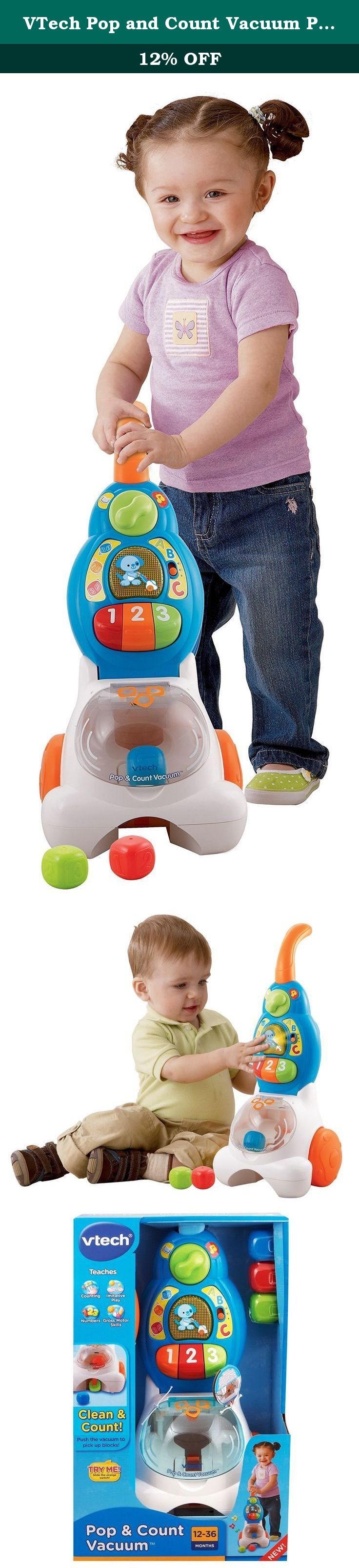 VTech Pop and Count Vacuum Push Toy VTech the creator of the