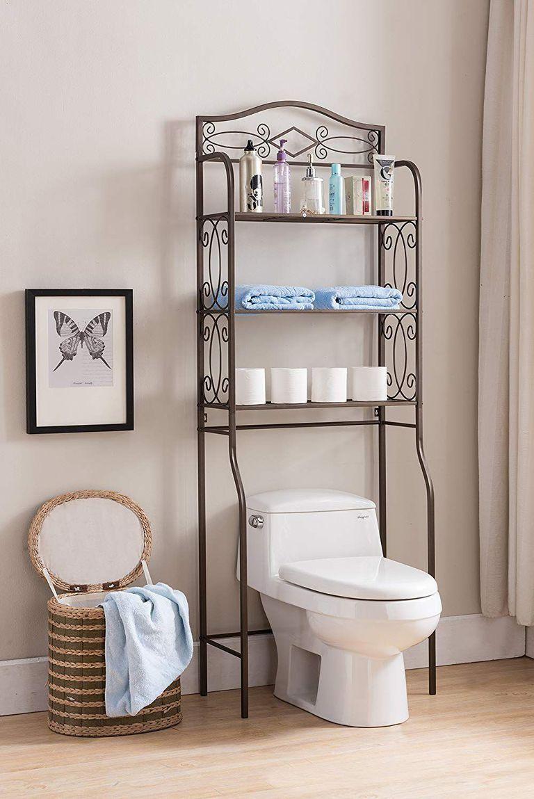 Make Your Makeup Spin Bathroom Storage Solutions Bathroom Rack