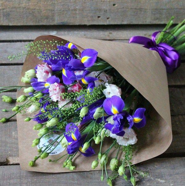 Модный букет цветов 2017