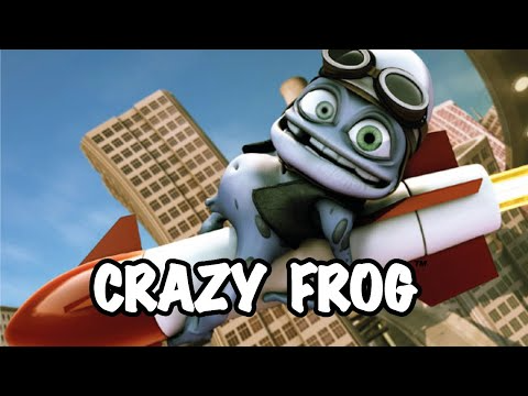863 Crazy Frog Axel F Official Video Youtube In 2021 Frog Video Download Games