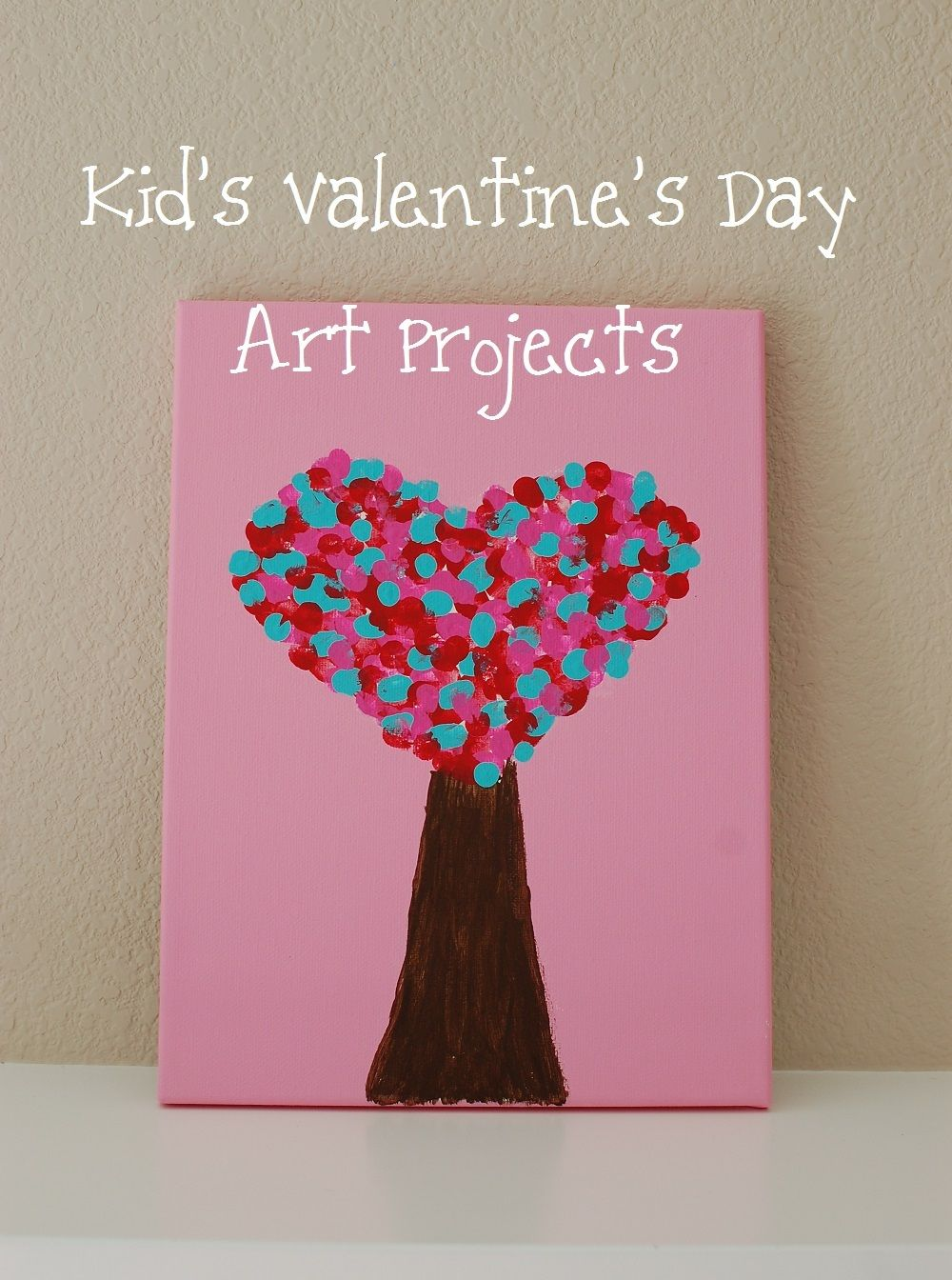 Marvelous Valentine Kid Craft Ideas Part - 12: Kidu0027s Valentineu0027s Day Art Projects.. I Think I Can Do This With Thumb Prints