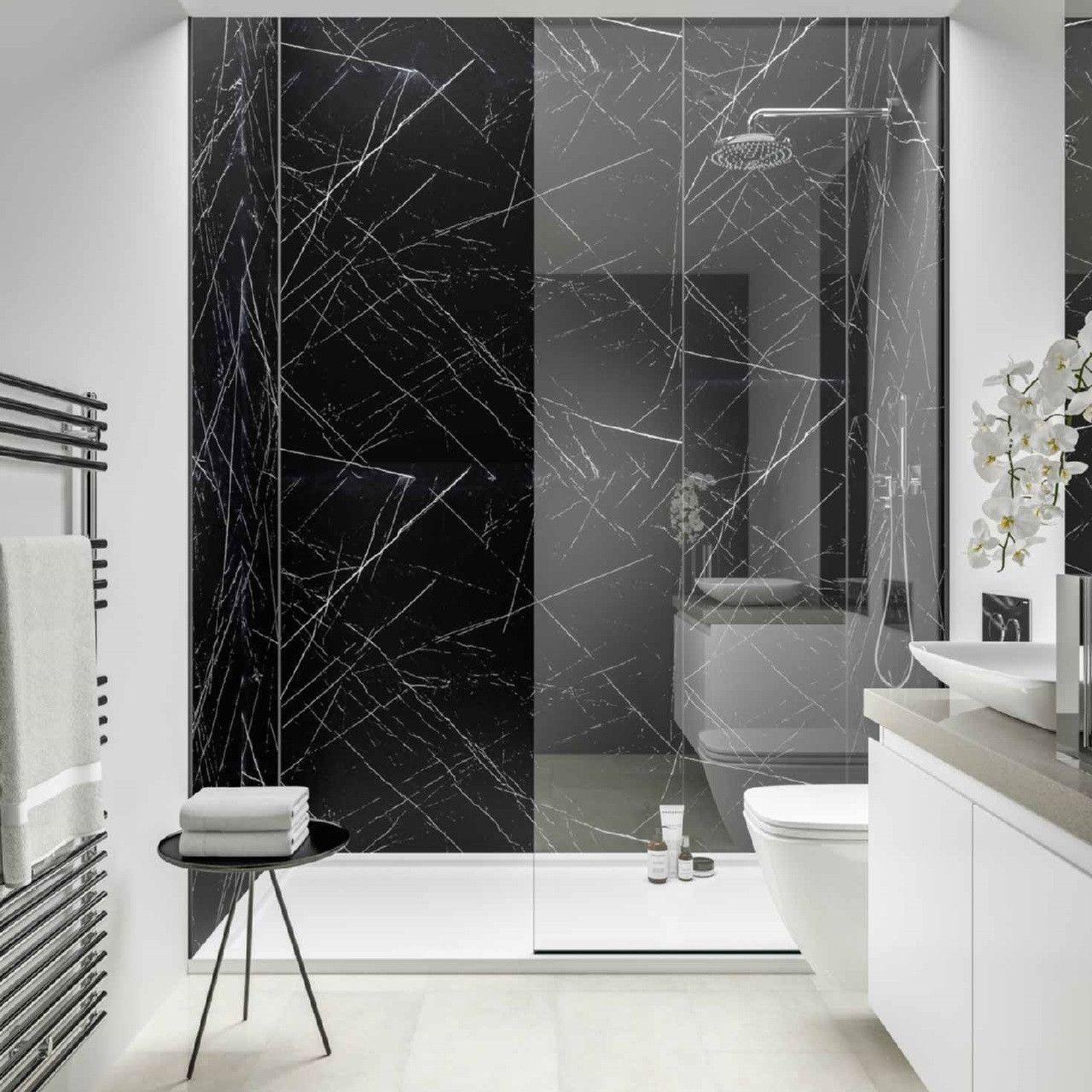 Luxury Marble Wall Panels Black Marble Bathroom Marble Bathroom Designs Marble Bathroom