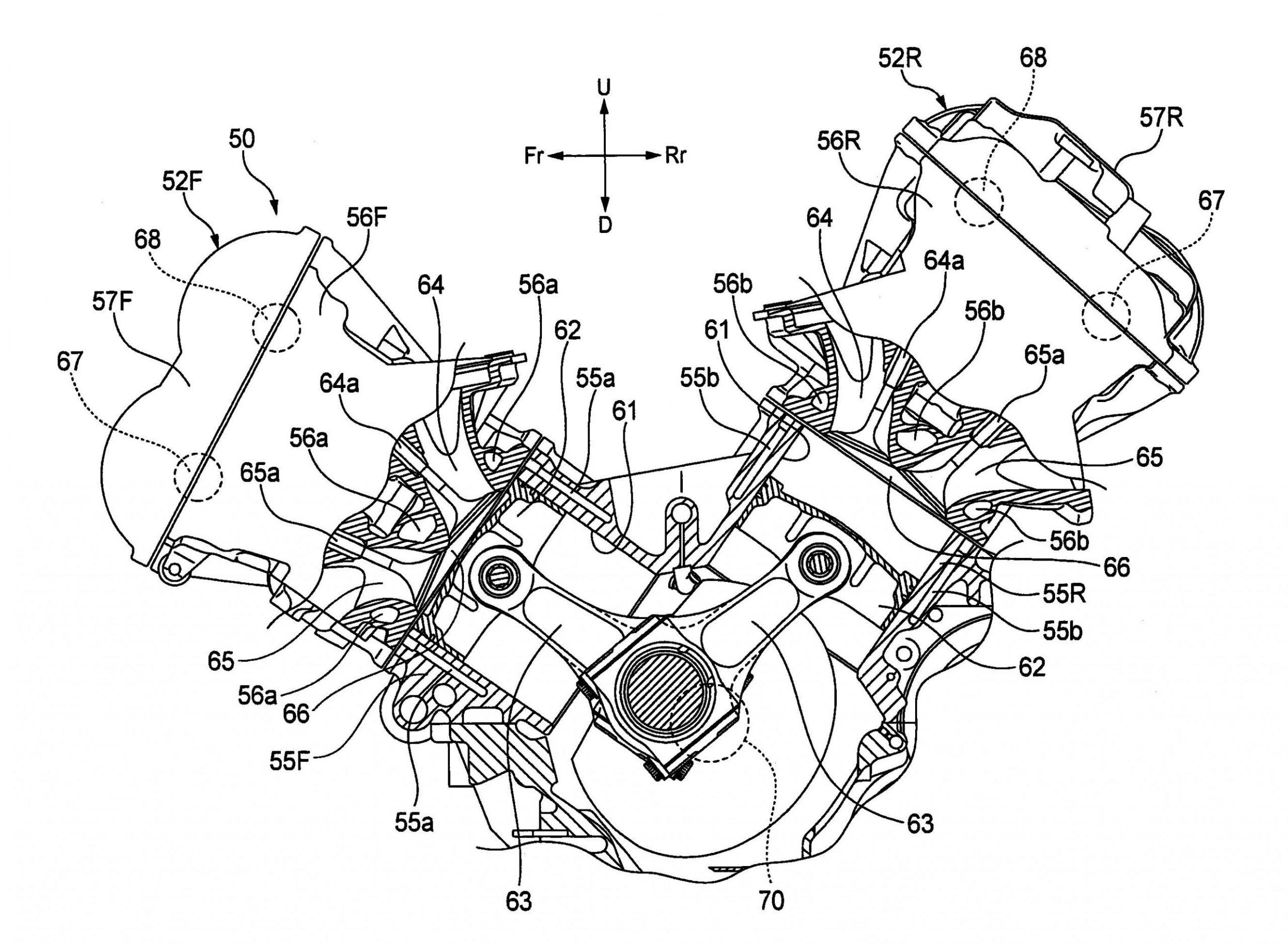 Engine Diagram Motorbike Racing di 2020   Mesin, Motogp, HondaPinterest