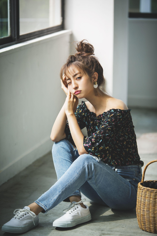 堀田茜 8月4日 3 大学生ファッション モデル ファッション