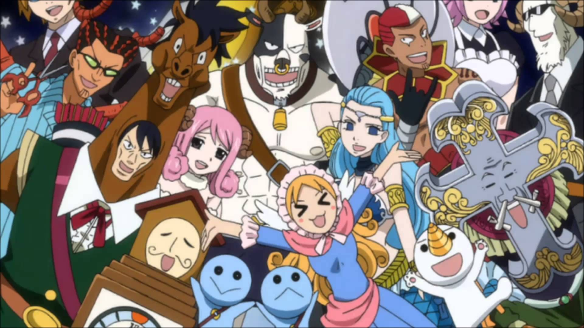 Image result for lucy fairy tail and celestial spirits | Fairy Tail