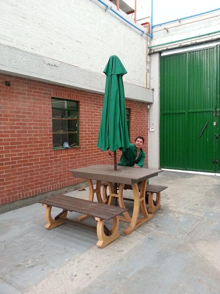 juego de mesa y sillas con sombrilla juego de mesa con sillas para ...