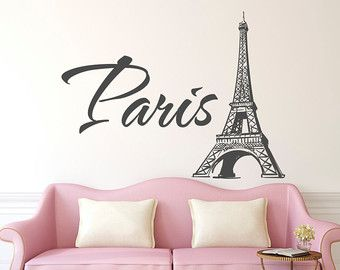 Room Paris Wall Decal