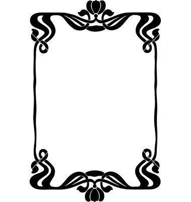 art nouveau frame vector art download frame vectors 1041089 rh pinterest co uk vector free download apk vector free download freepik