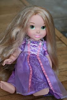 Is Your Rapunzel Doll Tangled How To Detangle Doll Hair Doll Hair Detangler Fix Doll Hair Doll Hair