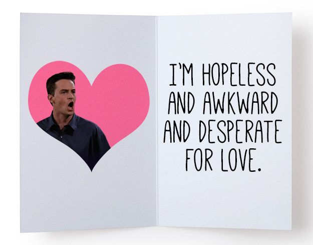 14 Valentine S Day Cards Only Friends Fans Will Appreciate Valentines Quotes Funny Friends Valentines Quotes Funny Valentines Cards
