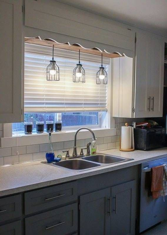 20 unique kitchen lighting ideas for your wonderful kitchen kitchen sink lighting diy kitchen on kitchen ideas unique id=43594