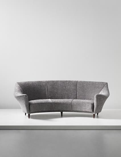 Ico Parisi, Sofa,1949. I LOVE LOVE LOVE this neutral mid century modern piece.