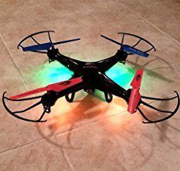 Amazon.com: SYMA X5C 2.4 GHZ 4 Channel RC Remote Control UFO Drone Quadcopter with HD Video/Camera [RX Aerio Exclusive - Black]: Camera & Photo