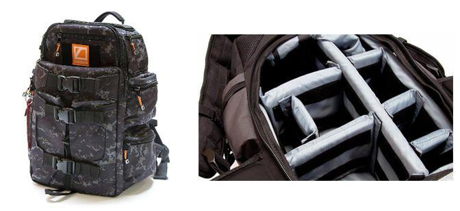 Tactical Camera Backpacks Cine Camo Bag For Photojournalists