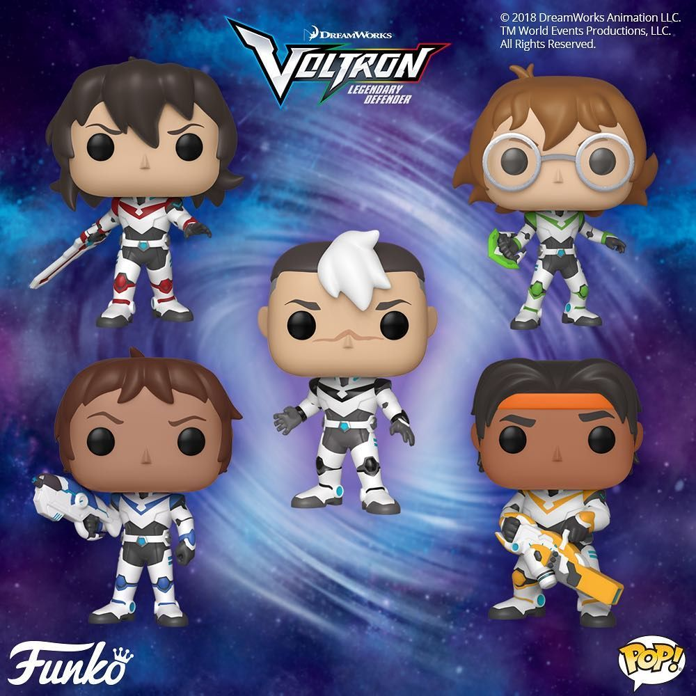 Keith 2018, Toy NUOVO Animation: Voltron Funko Pop