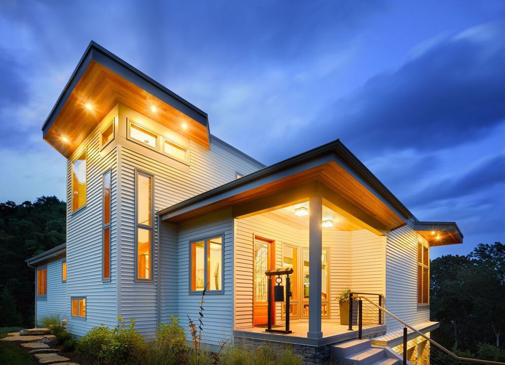 Great Contemporary Exterior Of Home Architecture Contemporary House Exterior Exterior House Siding