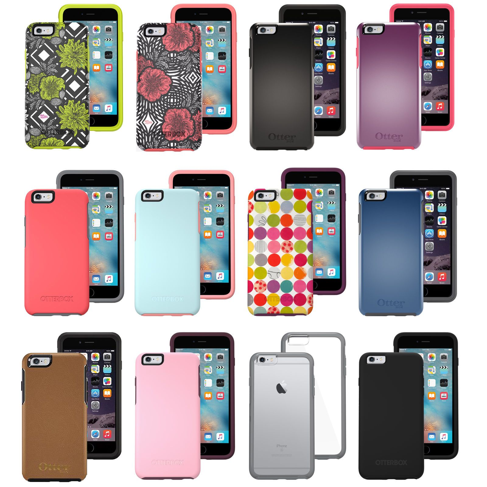brand new d3103 6d531 Details about New OtterBox Symmetry Series Case for Apple iPhone 6 ...