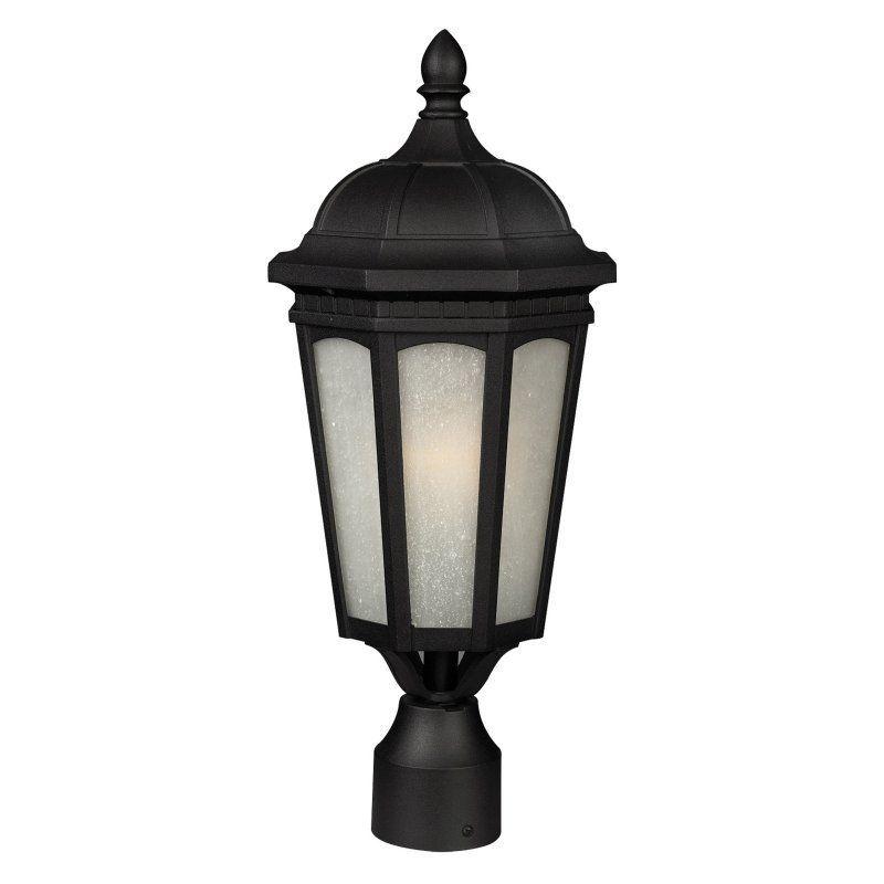 Z-Lite Newport 508PHB Outdoor Wall Light - 508PHB-533PM-BK