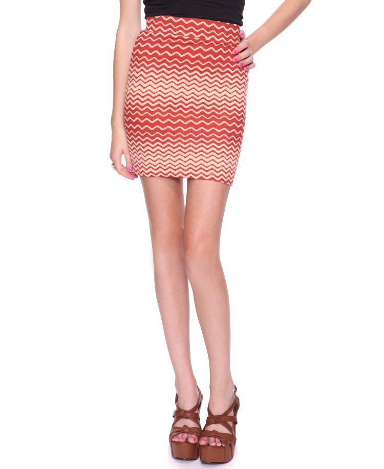 Waving Stripes Skirt $8.80