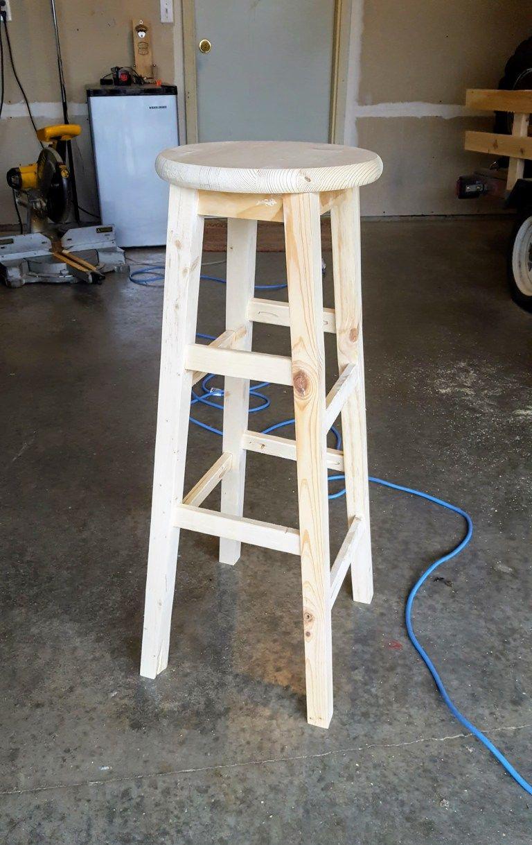 Faire Des Tabourets De Bar diy basic bar stools | tabouret à faire soi même, tabourets