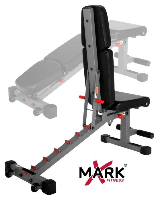 Xmark Xm 7630 Dumbbell Bench Review Usa Home Gym Home Made Gym Adjustable Weight Bench Weight Benches