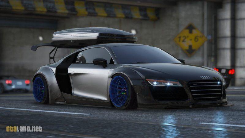 2013 Audi R8 V 10 Plus Widebody Fivem Add On Replace In 2020 Audi R8 Audi Sports Car