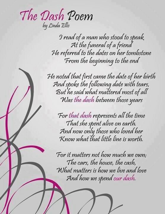 The Dash Poem This Was The Inspiration For A Relay For Life Team Fascinating Relay For Life Quotes