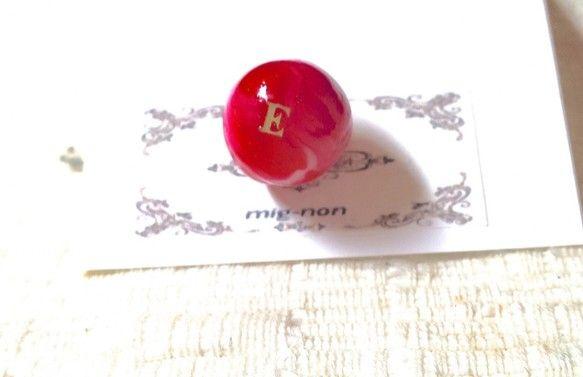 initiales marbre〜ビー玉〜  ピアス Eパールとマーブル模様(キャッチャー部分)のピアスです。色は混ぜてお作りしますので、写真と模様の出方が違...|ハンドメイド、手作り、手仕事品の通販・販売・購入ならCreema。