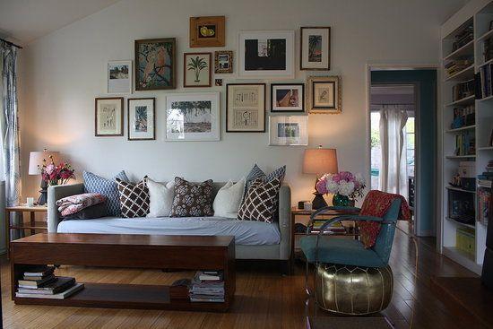 Su Casa Minka S Updated Living Room Funky Living Rooms Living