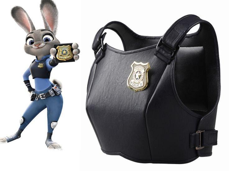 Film Disney Zootopia Rabbit Bunny Officer Judy Hopps COSplay Costume Uniform Set