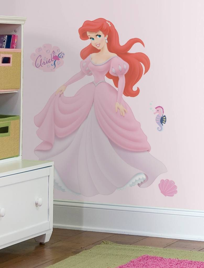 Disney Ariel Muursticker Te Koop Bij Versierendoejezo