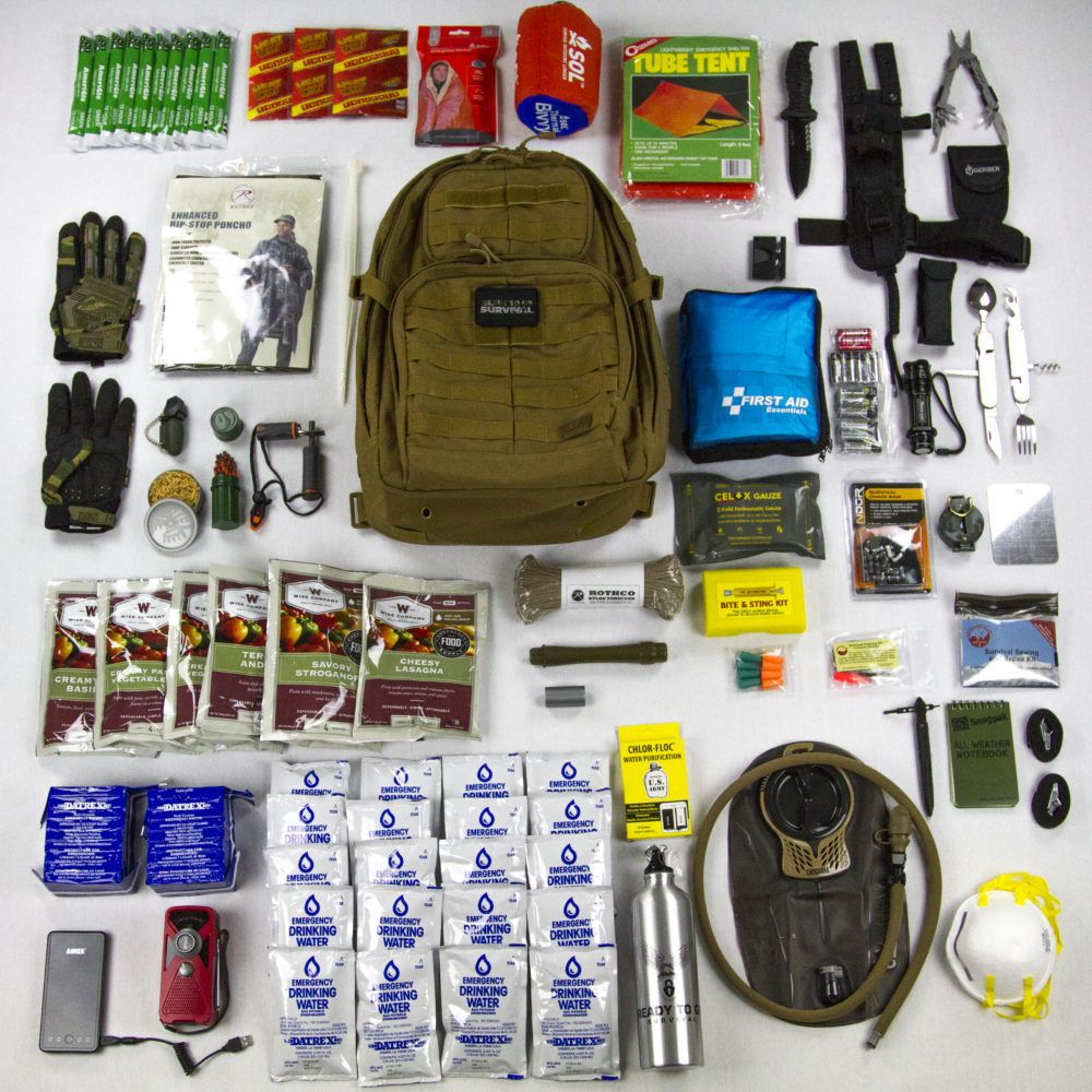 Personalized Survival Kits By Ready To Go Survival In 2020 Survival Backpack Survival Bag Get Home Bag