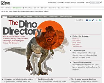 The Dino Directory