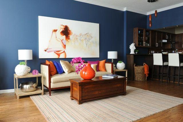 Wohnideen Wandfarbe Möbel Design Deko Kissen ...